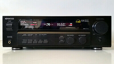 Nice 6.1 Home Theater Receiver Digital Stereo 100W/Ch Kenwood VR-616