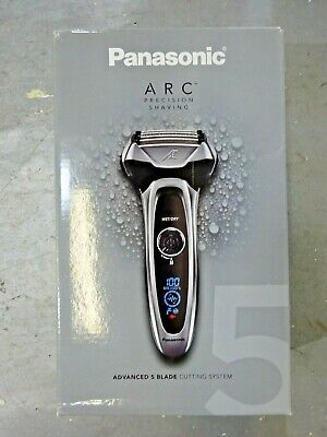 Panasonic Arc5 Men's 5-Blade Cordless Razor, ES-LV65