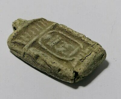 Egyptian Faience Stele Amulet