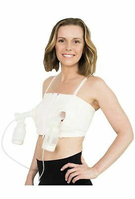 Simple Wishes Hands Free Breast Pump Bra XS to L Adjustable Sizing New