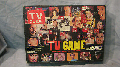 Classic TV Guide's TV Game New-in-the-box! Over 6000 TV Trivia Questions 1984