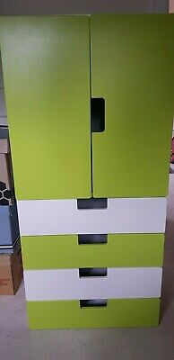 Ikea childrens wardrobe kids baby small cupboard with drawers