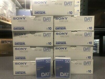 SONY PDP-50C Pro DAT-10 Tapes