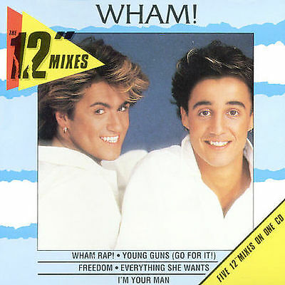 "WHAM! The 12"" Mixes CD BRAND NEW George Michael"