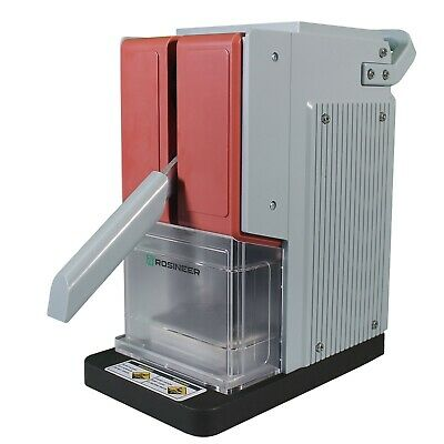 Rosineer PRESSO Personal Rosin Press, 1200+lbs, Dual-Heat Plates, Dusty Red