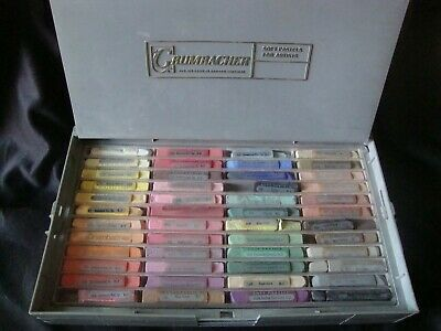 Grumbacher 144 pc. set of artist's pastels