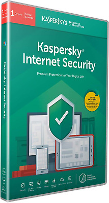 Kaspersky Internet Security 2020 | 1 Device | 1 Year | Antivirus and Secure VPN