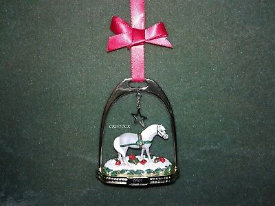 Breyer 2001 Stirrup Christmas Ornament With Box - Third In Series - Nib