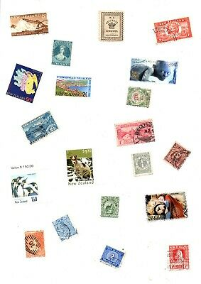 A Big Lot Of Stamps Off Paper From New Zealand ( 1000 +)