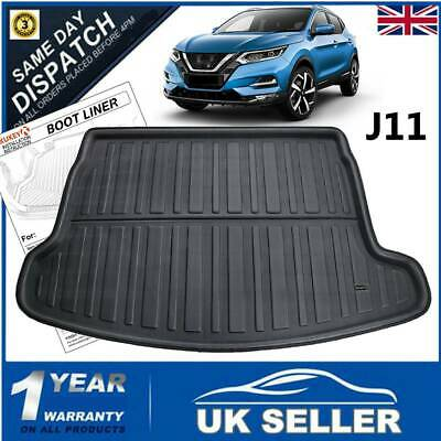 * TAILORED RUBBER BOOT LINER MAT TRAY Nissan Qashqai since 2014 upper trunk