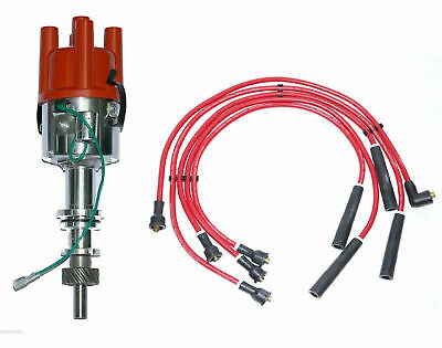 Ford Pinto Bosch Type Race distributor Non Vac fits Pinto Engine + HT Leads