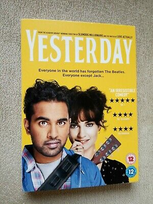 Yesterday (DVD, 2019) Starring Himesh Patel, Ed Sheeran, Directed By Danny Boyle