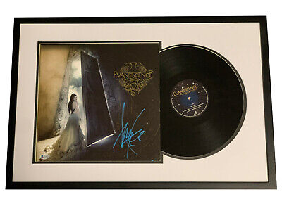 Evanescence Amy Lee Signed The Open Door Framed Vinyl Record Autograph Bas