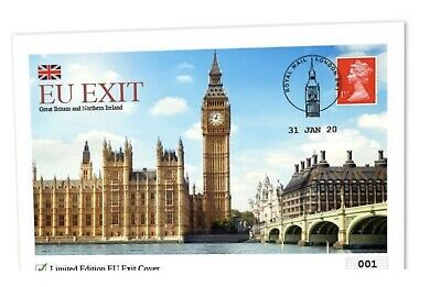 2020 UK Brexit Cover LIMITED EDITION ONLY 995