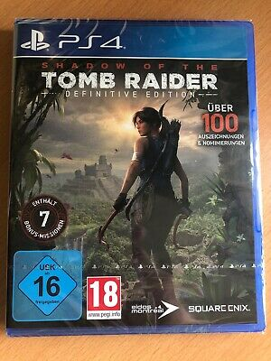 Shadow of the Tomb Raider Definitive Edition Playstation 4 PS4 NEU&OVP