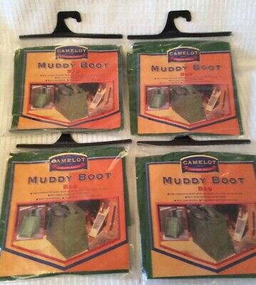 X4 Camelot Quality Muddy Boots Bags ~ New ~ CAM016