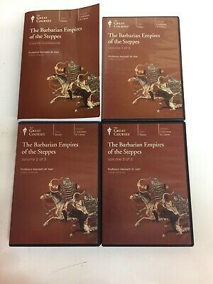 The Barbarian Empires of the Steppes Course Guidebook Book and Audio Cds