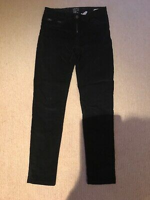 Girls black velvet trousers Zara age 11. - 12 yrs