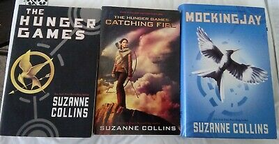 Hunger Games Trilogy Complete BOOK SET mixed paperback Hardcover 3 books