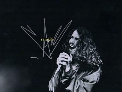 Chris Cornell #5 Reprint Photo 8X10 Signed Autographed Picture Man Cave Gift Rp