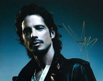 Chris Cornell #4 Reprint Photo 8X10 Signed Autographed Picture Man Cave Gift Rp