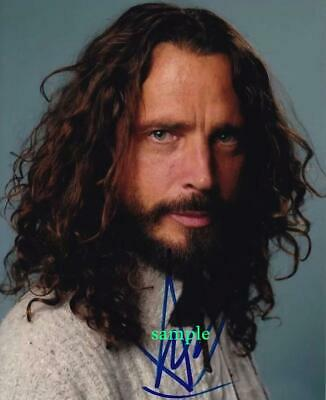 Chris Cornell #2 Reprint Photo 8X10 Signed Autographed Picture Man Cave Gift Rp