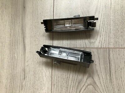 Toyota Aygo 2014-2019 Rear Number Plate Lights