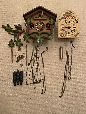 2 x 20th Century Cuckoo Clocks