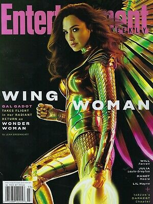 Entertainment Weekly  March 2020  Gal Gadot Wonder Women with Wings