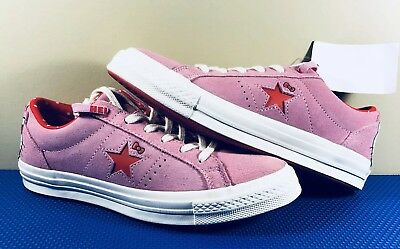 CONVERSE ONE STAR Hello Kitty EUR 42 Lim. Edition Creme Rot