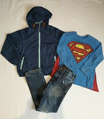 Boys NEXT Jacket - Next Jeans - Long sleeve Top - Age 4-5 Years Bundle