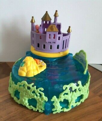 Disney Vintage Polly Pocket Ariel little Mermaid Under Sea Kingdom