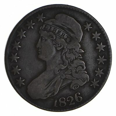 1826 Capped Bust Half Dollar - Circulated *9057