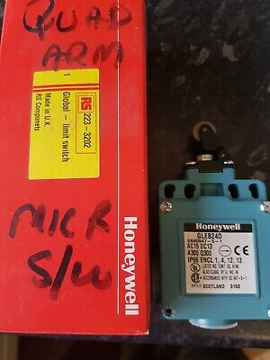 New Honeywell Limited Switch Gleb24D-Rs