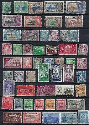 BRITISH COMMONWEALTH 1860s 1950s COLLECTION OF HUNDREDS HONG KONG STRAITS SETTLE