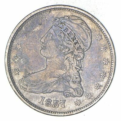 1837 Capped Bust Half Dollar - Circulated *8961