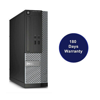 Dell Optiplex 3020 SFF i3-4130 QC 3.40Ghz 4GB Ram 250Gb HDD Win 10 Desktop PC