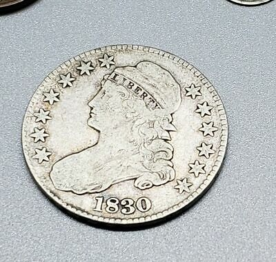 1830 Capped Bust Half Dollar - Grandfather's Coin Collection