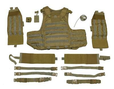Eagle Industries Prototype Khaki Releasable SEAL Assaulters Vest Carrier - SMALL