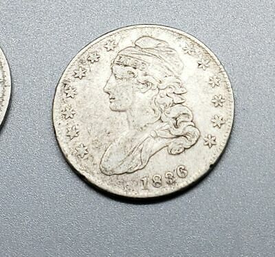 1836 Capped Bust Half Dollar - Grandfather's Coin Collection