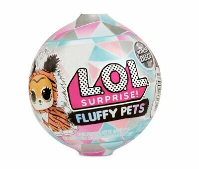 L.O.L. Surprise! Fluffy Pets Winter Disco Series with Removable Fur Lot of 2