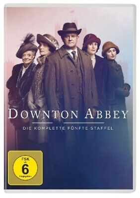 Downton Abbey-Staffel 5 [DE-Version, Regio 2/B] - Maggie Smith / Hugh Bonne NEU