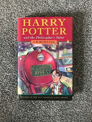 Harry Potter and The Philosopher's Stone First Edition Second Printing 1st/2nd