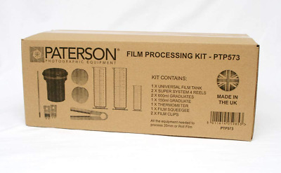 Paterson Film Processing Kit :