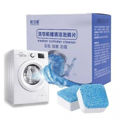 5PCS Tab Washing Machine Cleaner Washer Cleaning Detergent Effervescent Tablet W