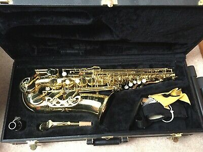 Alto Saxophone Buffet Crampon Evette with hard case