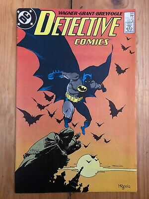 Detective Comics Issue 583 Batman DC Signed John Wagner Alan Grant 1st Scarface