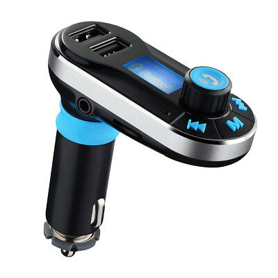 Wireless In-Car FM Transmitter MP3 Radio Adapter Car Kit USB Charger