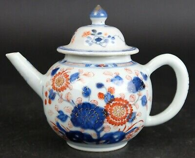 Antique Chinese imari 18th century teapot.