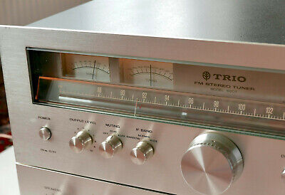 Trio Kenwood 600T Fm Tuner - Serviced & Rare